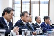 """문 대통령 """"남북정상회담, 장소·형식 구애되지 않고 본격 추진"""""""